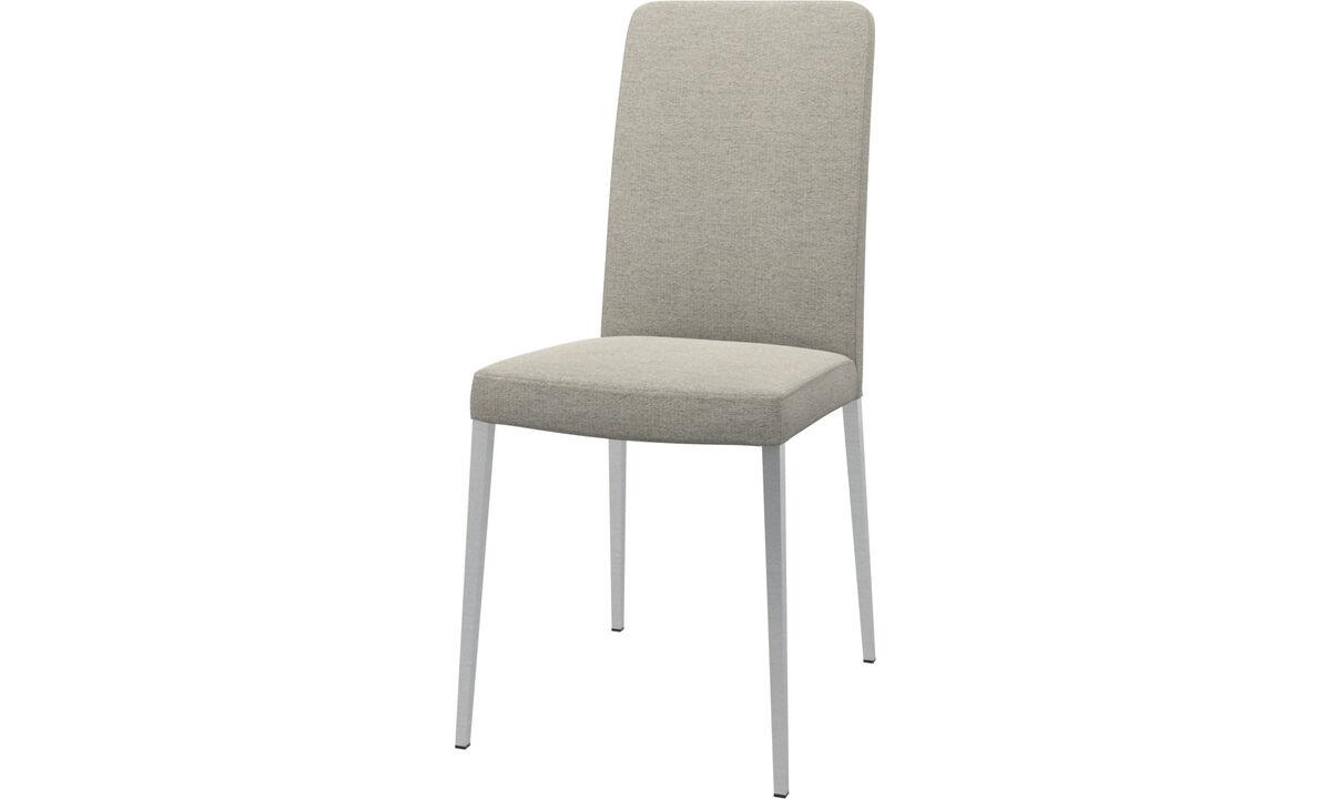 Обеденные стулья - cтул Nico - Бежевого цвета - Tкань