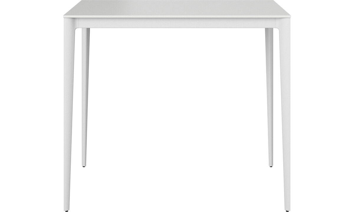 Bar tables - Torino bar table/high table - rectangular - White - Lacquered