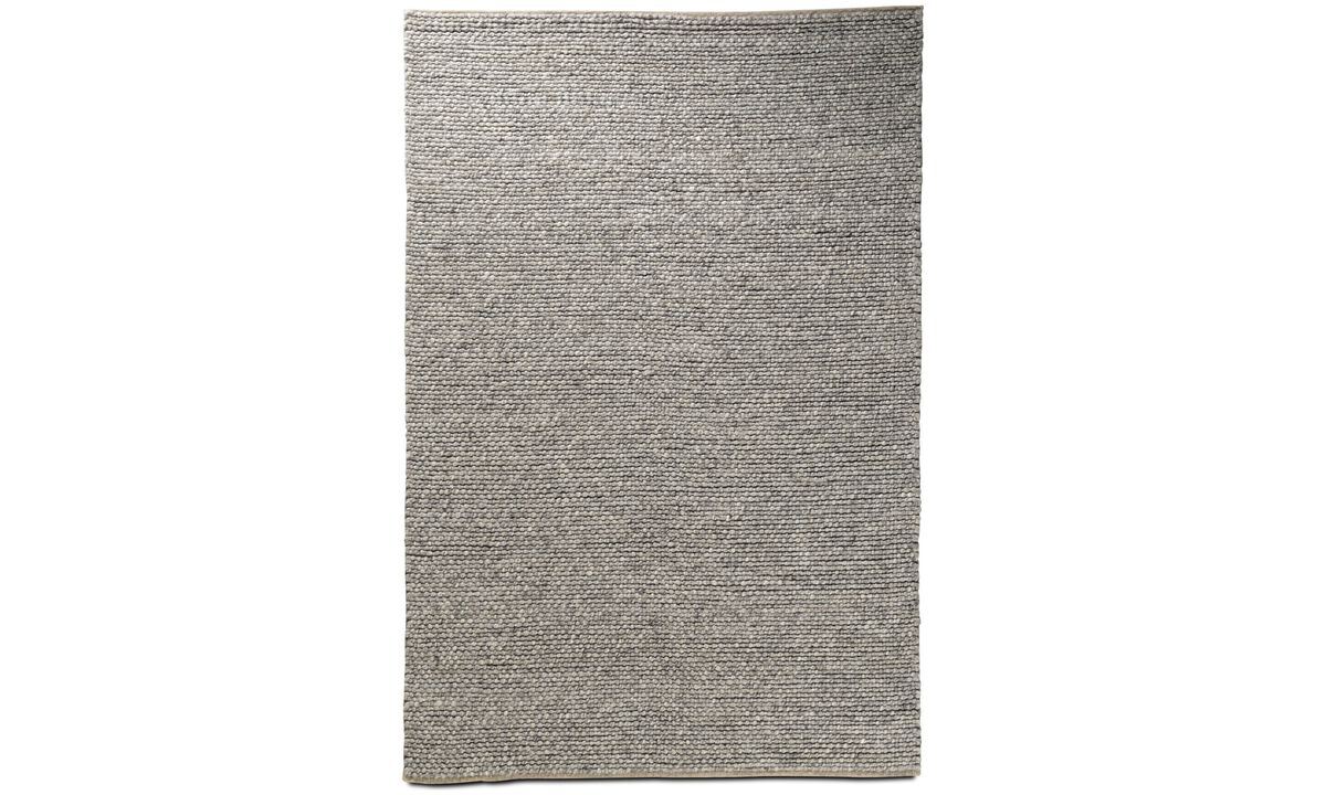 Alfombra rectangulares - Alfombra Northern - rectangular - En gris - Tela