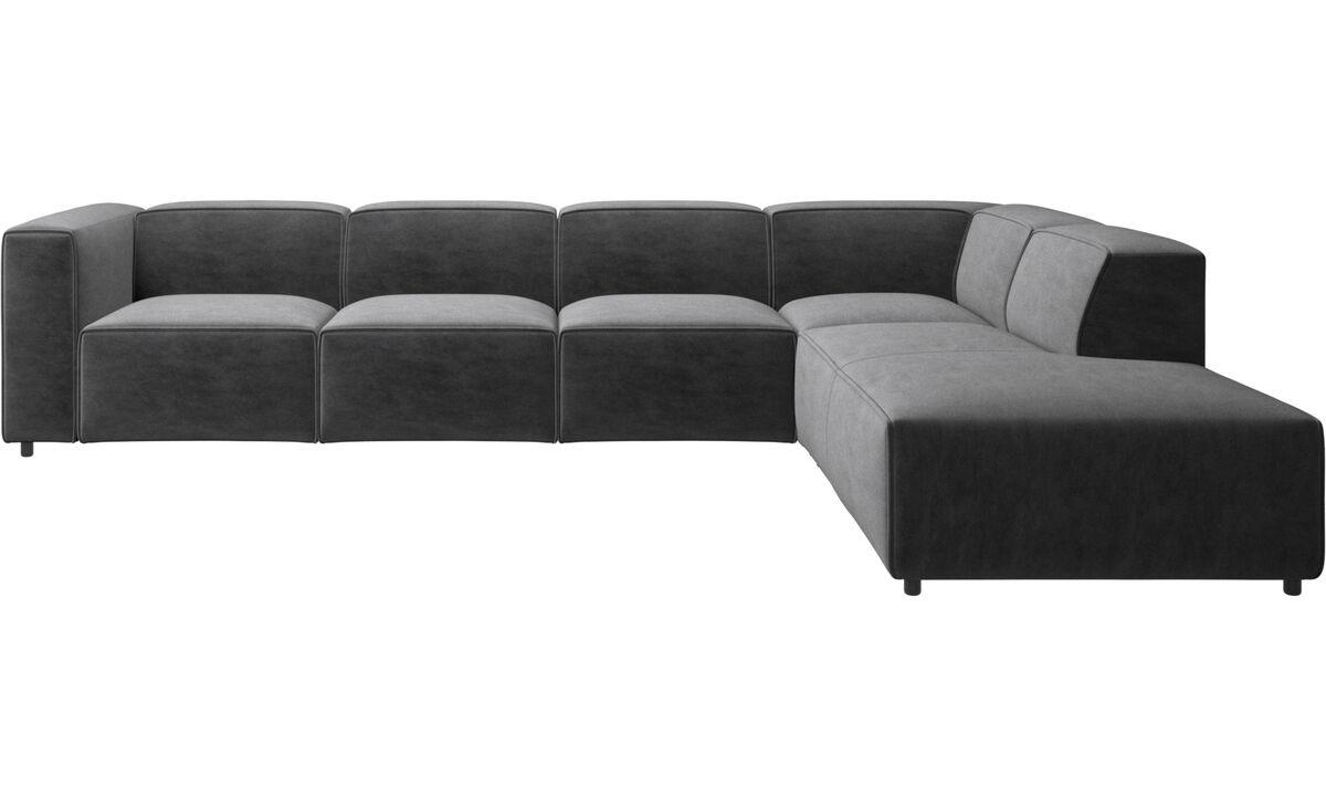 Corner sofas - Carmo corner sofa - Grey - Fabric