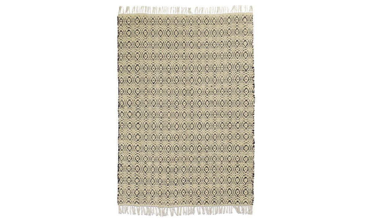 Rectangular rugs - Tappeto Arte - rettangolare - Blu - Tessuto
