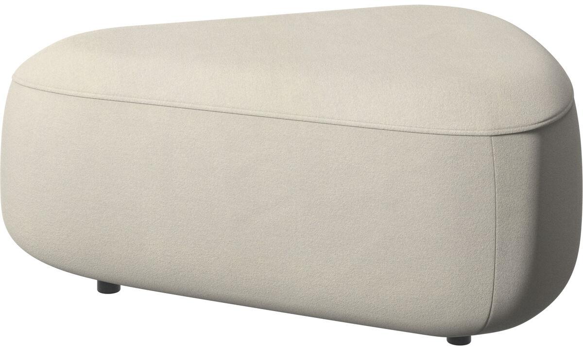 Modular sofas - Ottawa三角形椅垫 - 白色 - 布艺