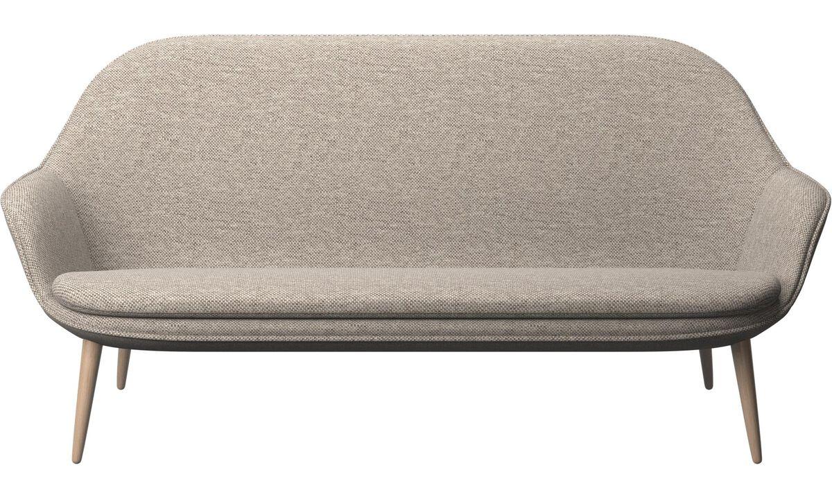 2.5 seater sofas - Adelaide sofa - Beige - Fabric