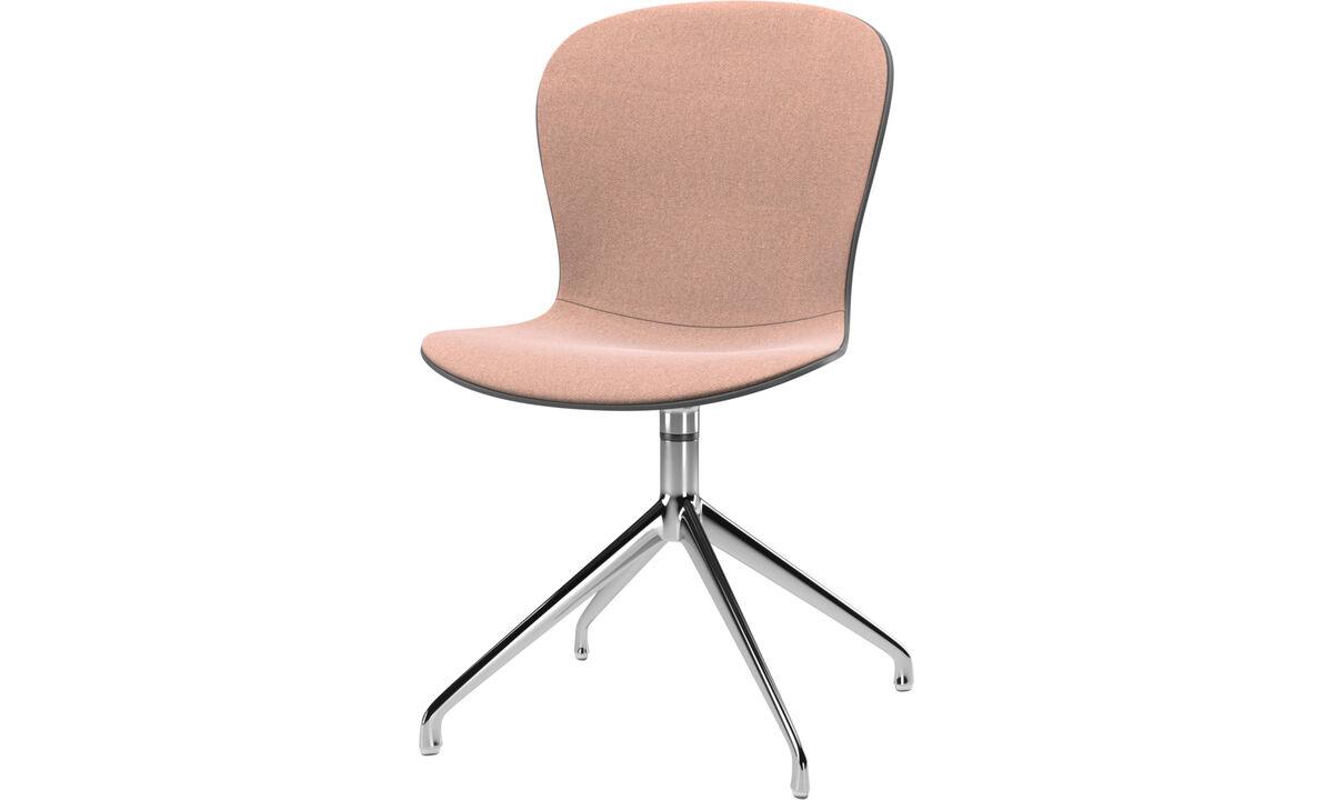 Dining chairs - scaun Adelaide cu functie de pivotare - Roşu - Tesatura