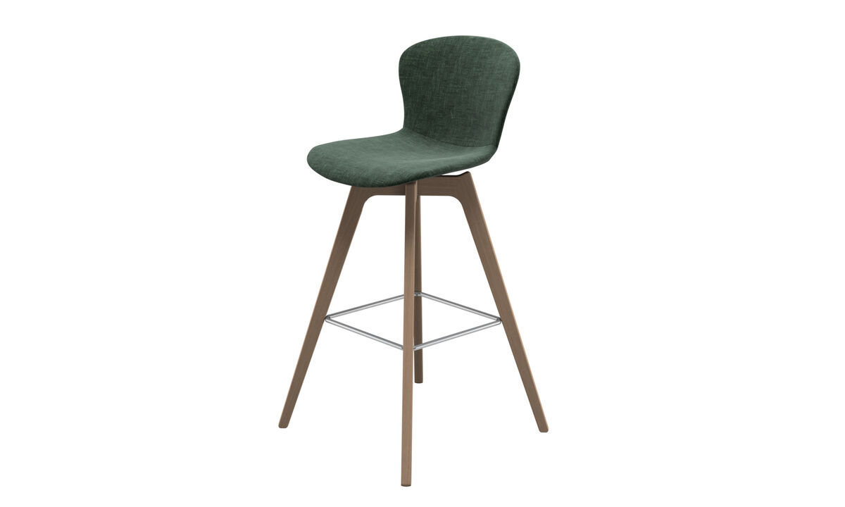 Bar stools - Adelaide barstool - Green - Fabric