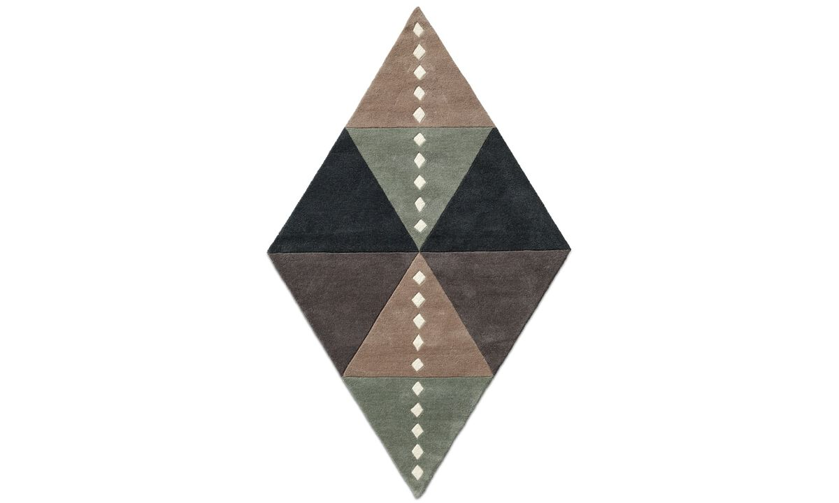 Rugs - Petrus rug - rectangular - Beige - Fabric