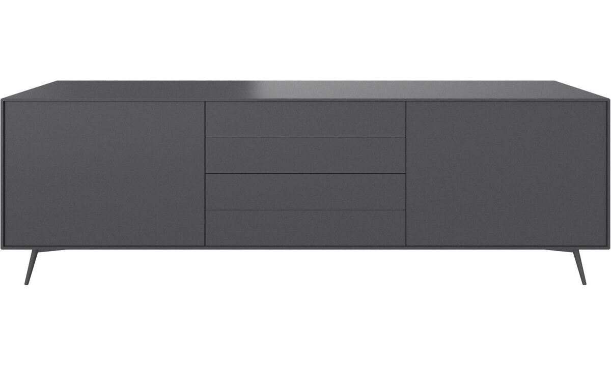 Sideboards - Fermo sideboard - Gray - Lacquered