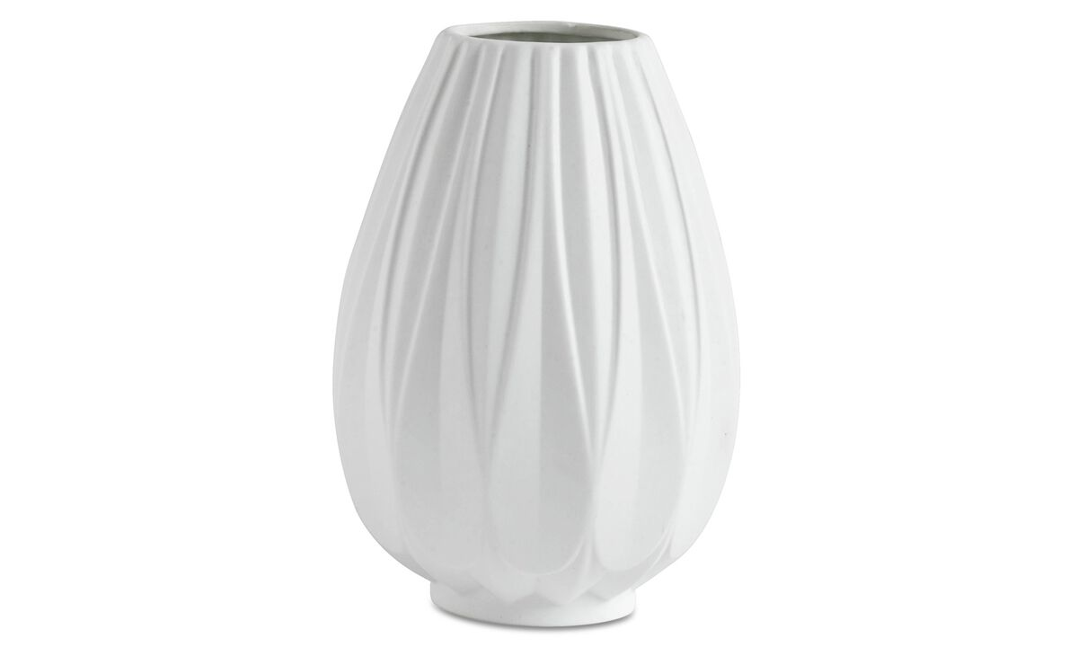 New designs - Relief vase - White - Ceramic