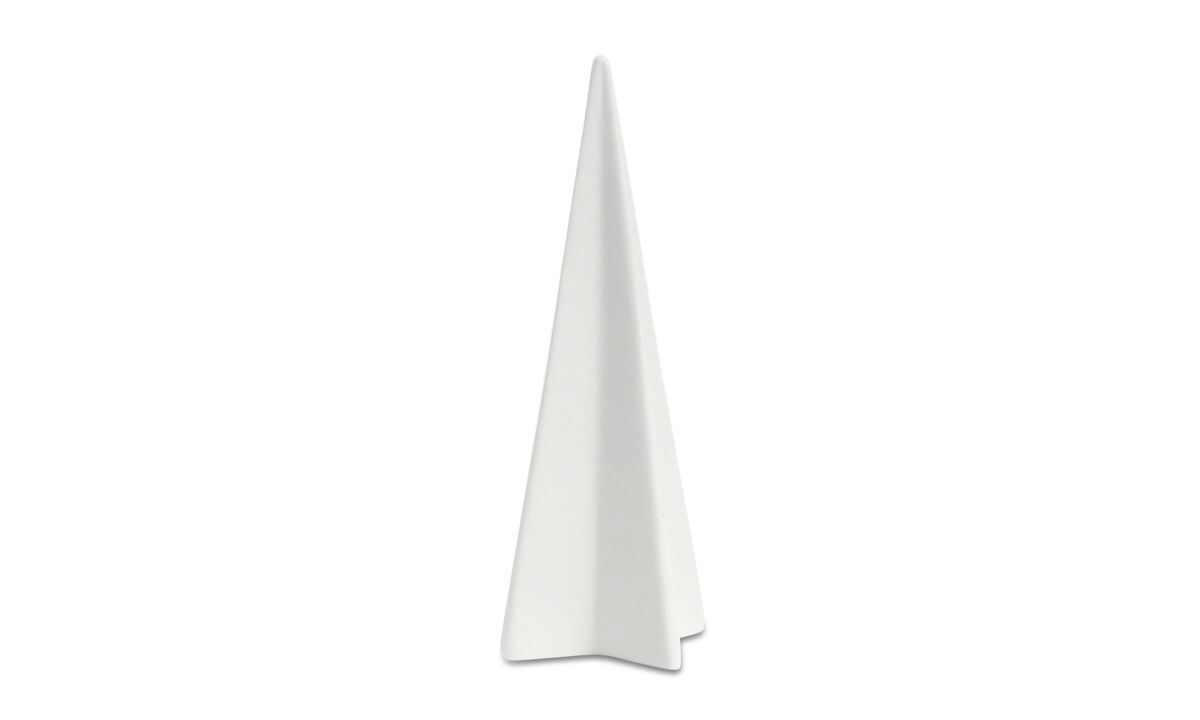 Sculptures - Christmas Tree sculpture - White - Ceramic