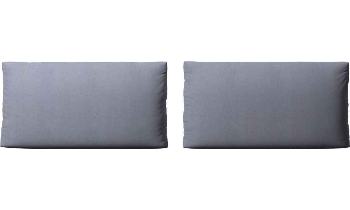 Furniture accessories - Nantes sofa cushions - Blue - Fabric