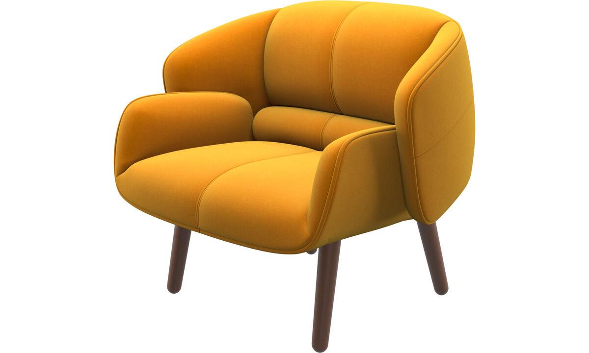 Armchairs - fusion chair - Orange - Fabric
