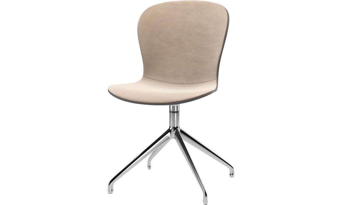 Dining chairs - scaun Adelaide cu functie de pivotare - Bej - Tesatura