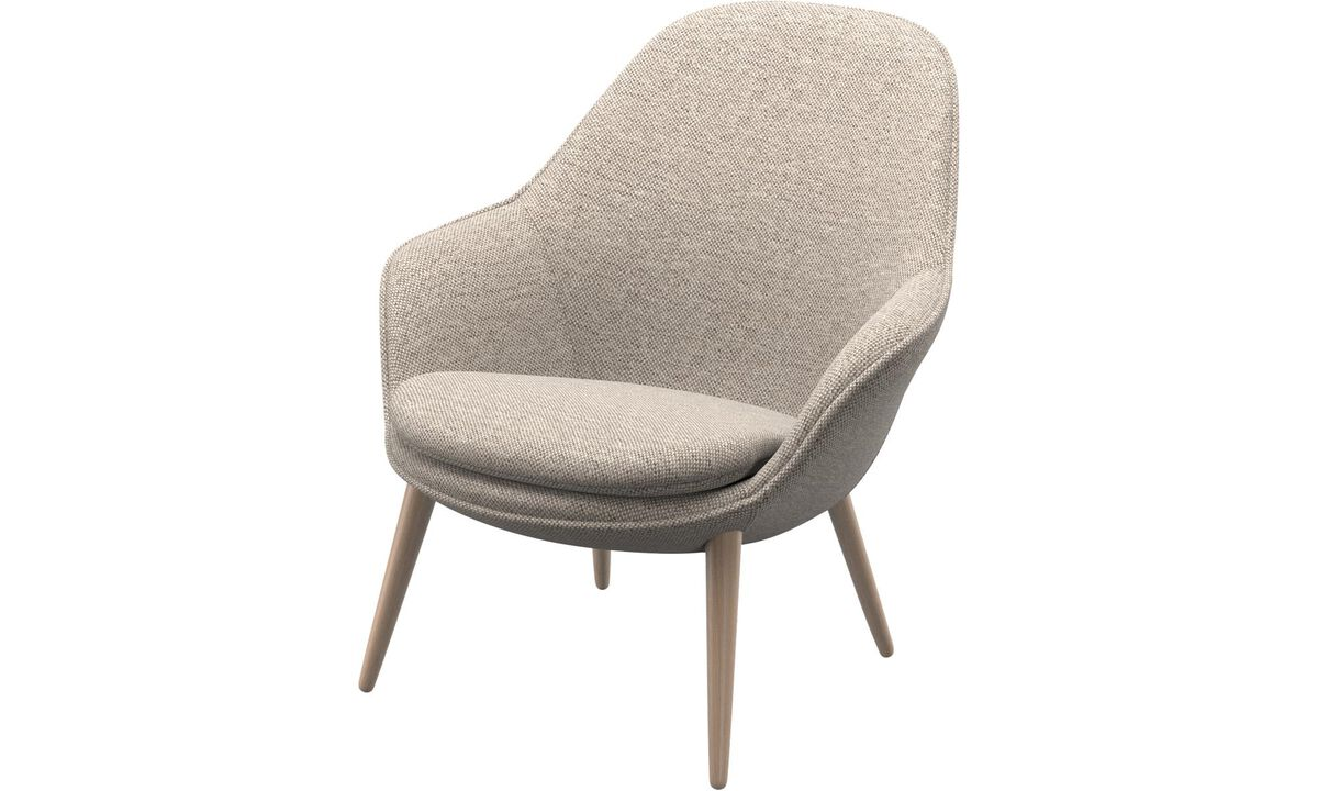 Nuevos diseños - Butaca Adelaide - En beige - Tela
