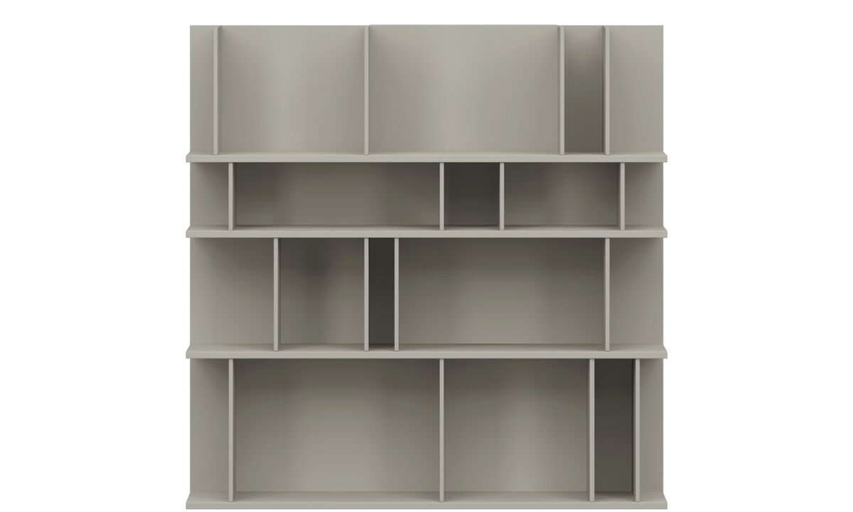 Wall Units - Como wall system - Lacquered