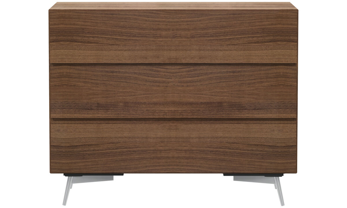 Chests of drawers - Lugano chest - Brown - Walnut