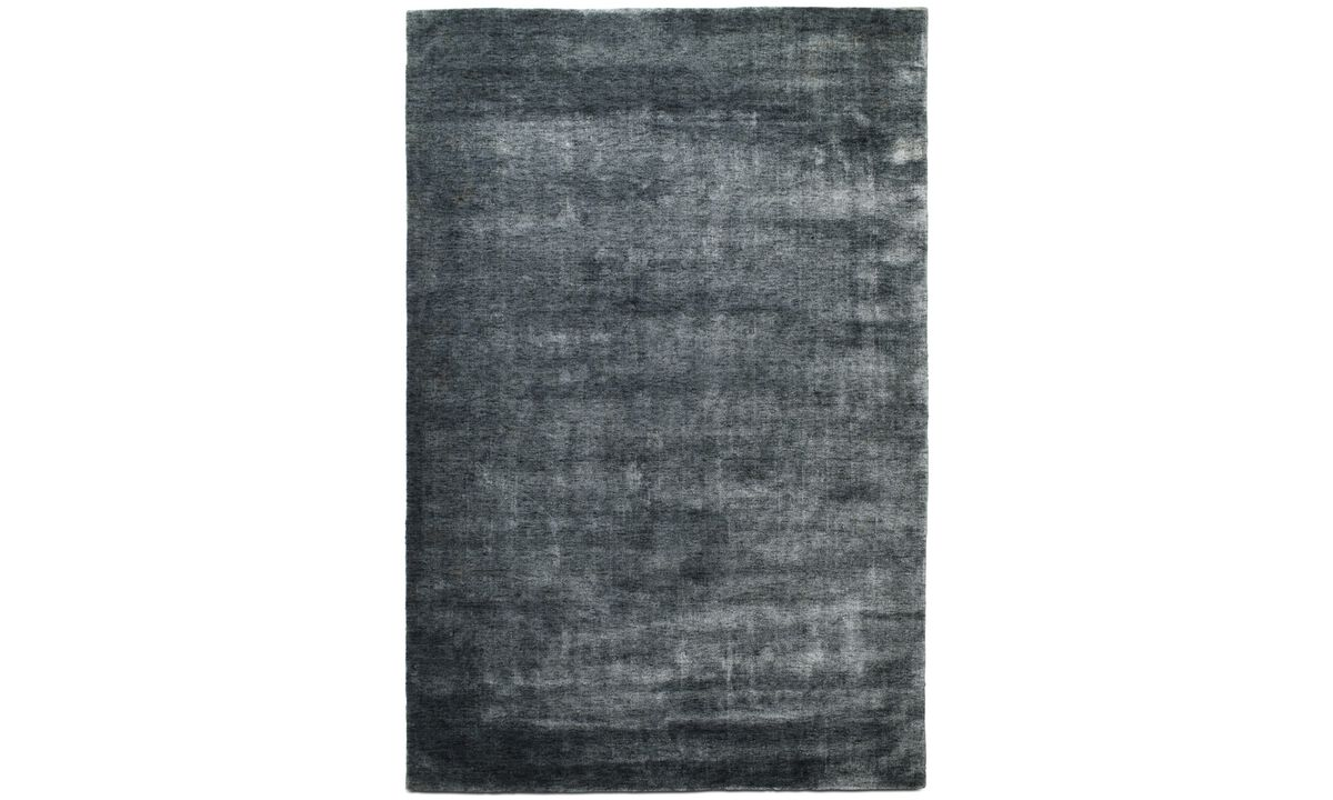 Rectangular rugs - Plaza rug - rectangular - Blue - Fabric