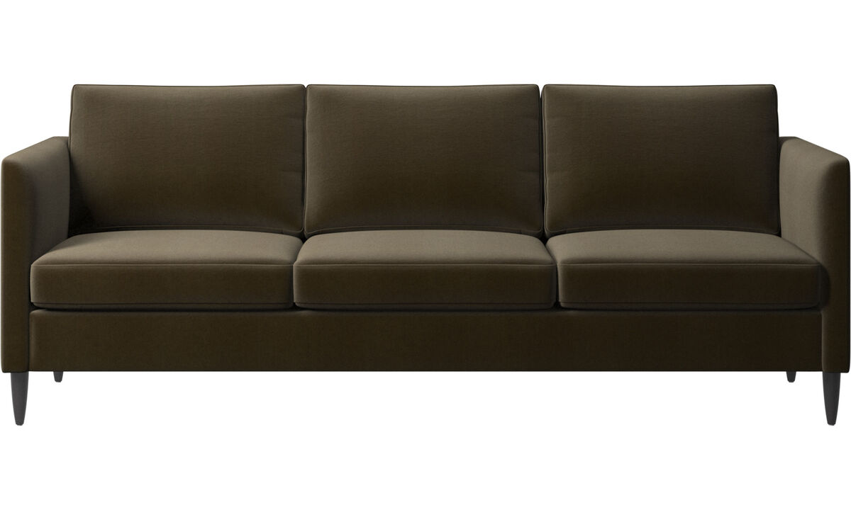 3 seater sofas - Indivi sofa - Brown - Fabric