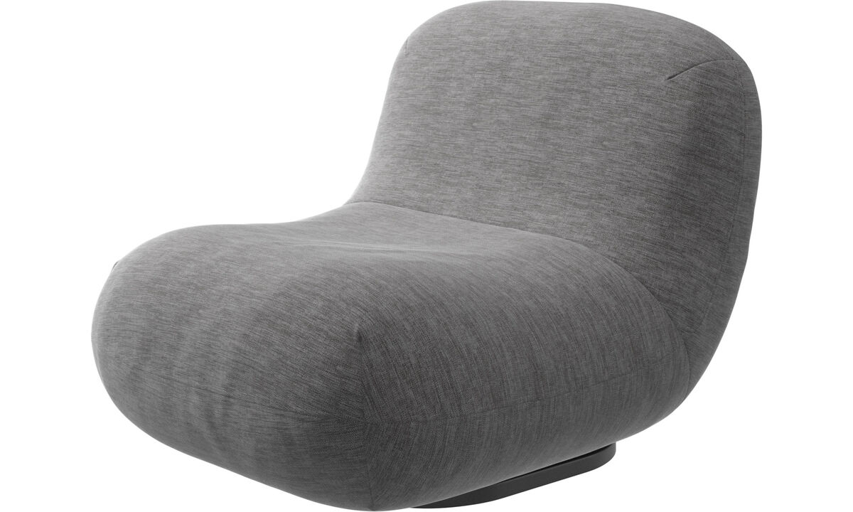 Armchairs - Chelsea chair - Grey - Fabric
