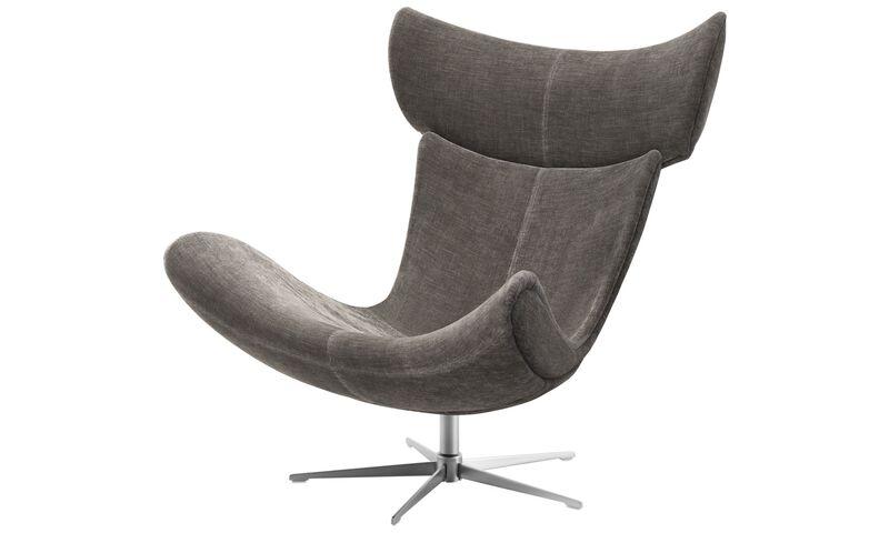 sessel und fu hocker imola sessel mit drehfunktion boconcept. Black Bedroom Furniture Sets. Home Design Ideas