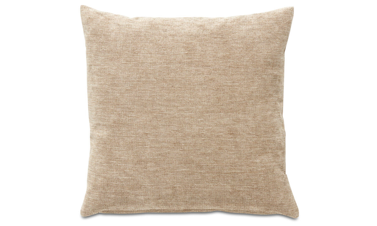 Velvet cushions - Velvet rough cushion - Brown - Fabric
