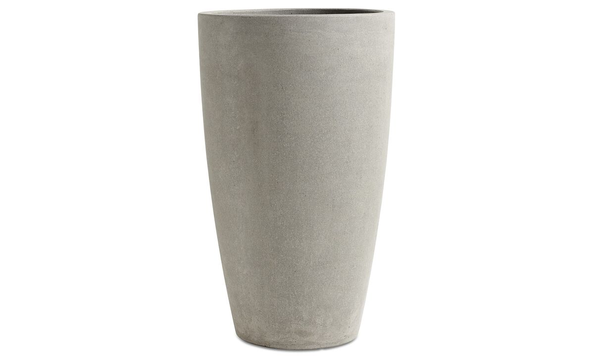 New designs - Outdoor flowerpot - Grey - Concrete