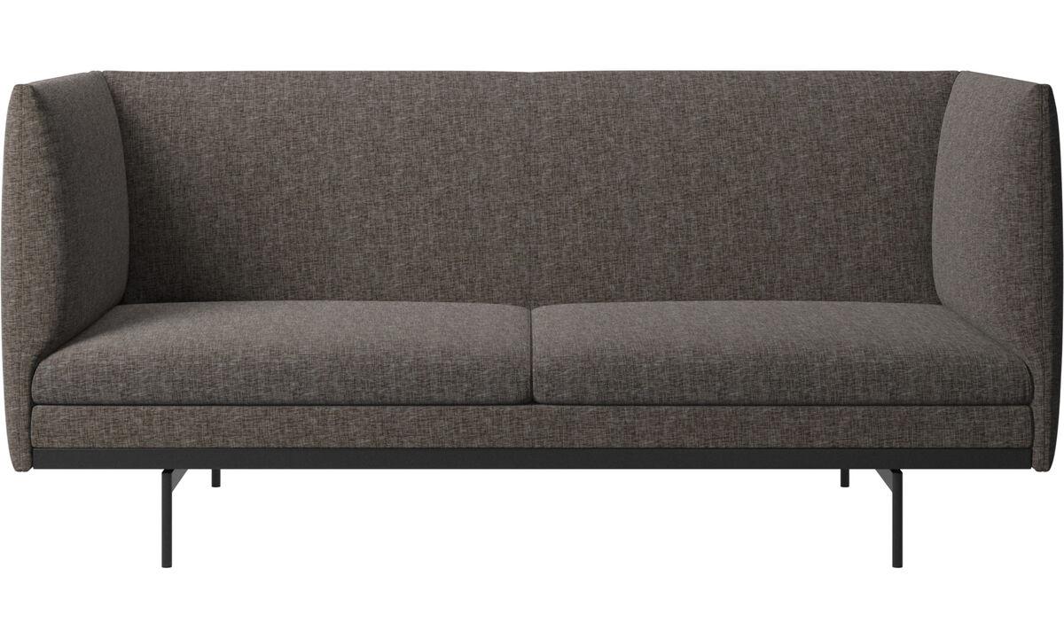 2 seater sofas - Nantes sofa - Brown - Fabric