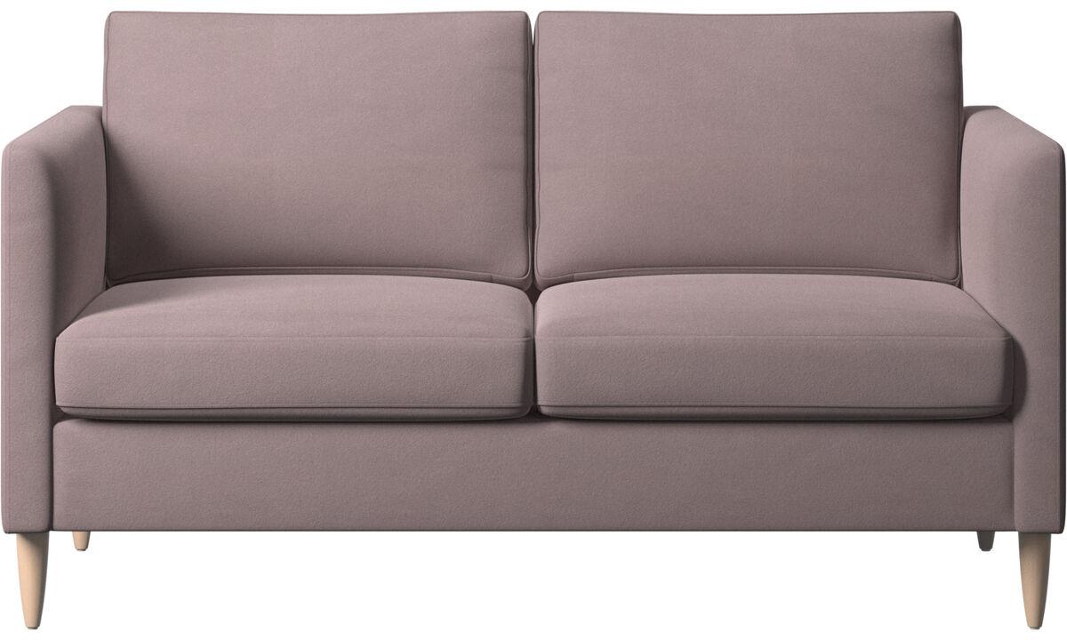 2 seater sofas - Indivi divano - Viola - Tessuto