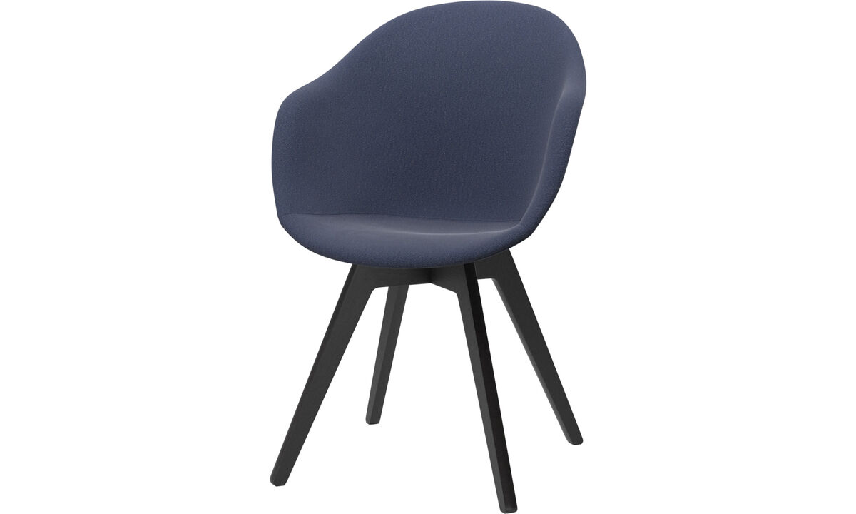 Dining Chairs Singapore - Adelaide chair - Blue - Fabric