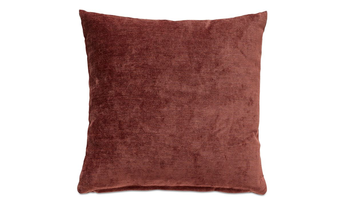 Velvet cushions - Velvet rough cushion - Mixed colours - Fabric