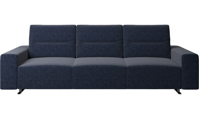napoli stoff hampton sofa mit verstellbarer r ckenlehne boconcept. Black Bedroom Furniture Sets. Home Design Ideas