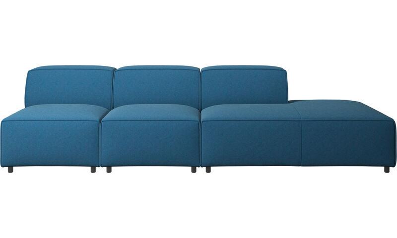 Modulare Sofas Carmo Sofa Mit Loungemodul Boconcept