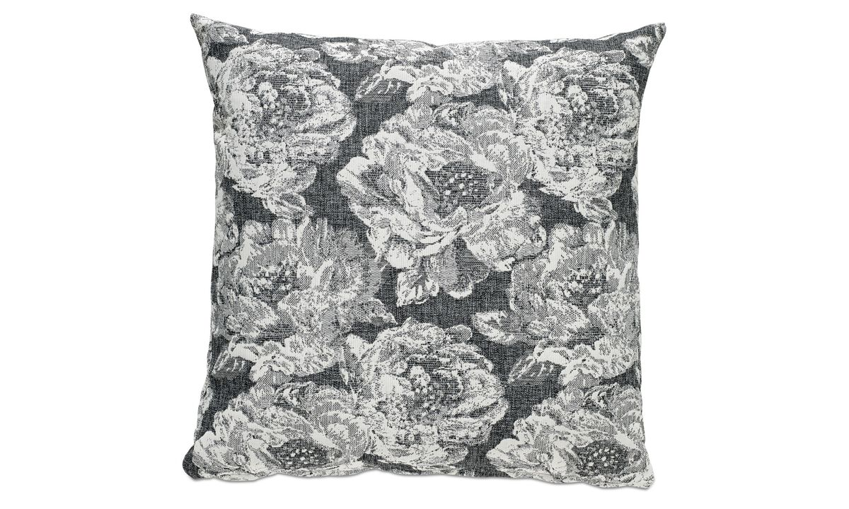 New designs - Rosa gialla cushion - Fabric