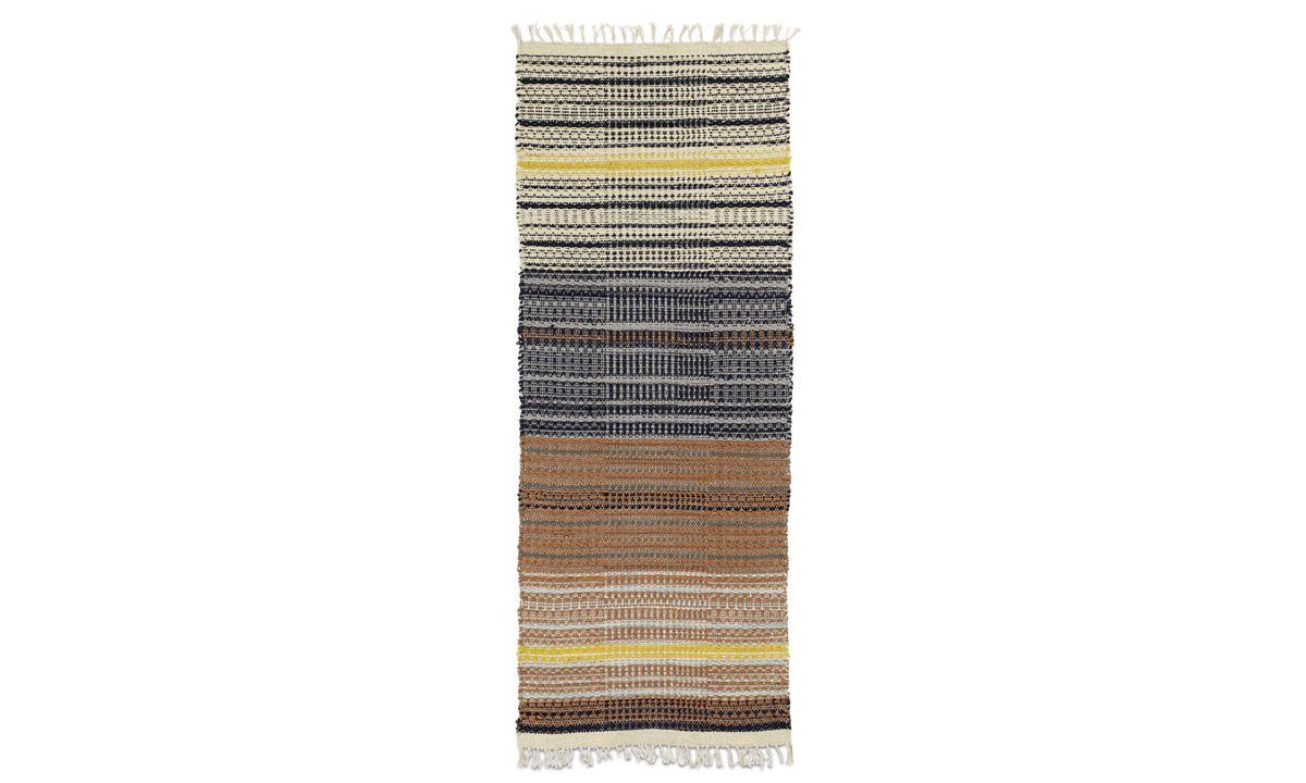 Alfombra rectangulares - Alfombra Arte - runner - Varios colores - Tela