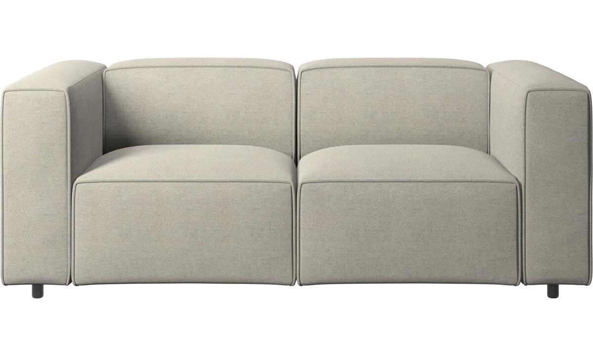 Sofás modulares - sofá Carmo - En beige - Tela
