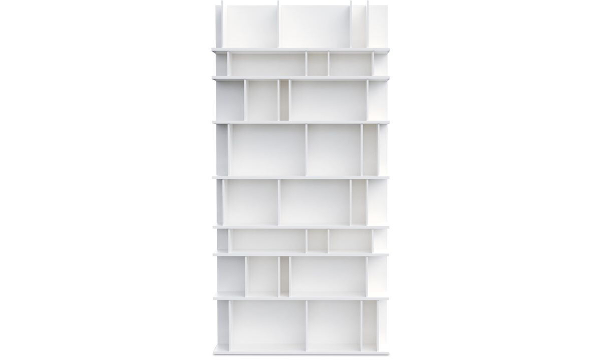 Wall systems - Como wall system - White - Lacquered