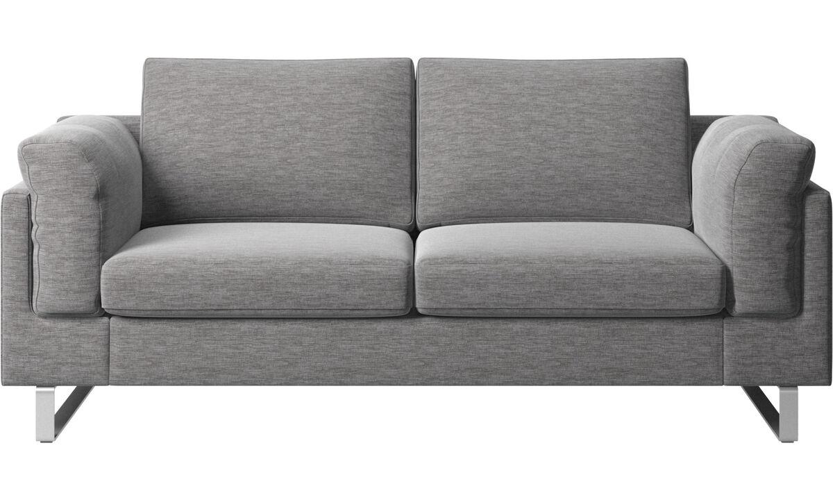 2 seater sofas - Indivi sofa - Grey - Fabric