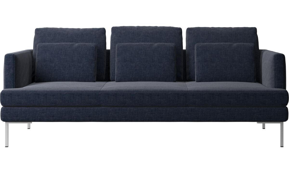 dunkelblauer napoli stoff istra 2 sofa boconcept. Black Bedroom Furniture Sets. Home Design Ideas