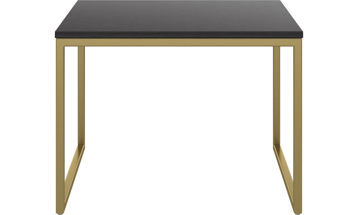 Coffee tables - Lugo coffee table - square - Black - Oak