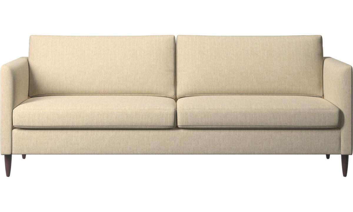 3 seater sofas - Indivi sofa - Brown - Fabric