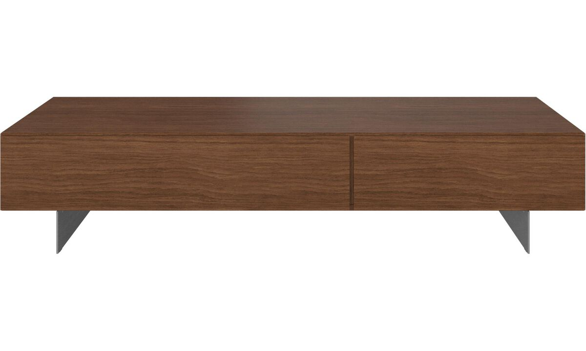 New designs - Lugano media unit with drawers - Walnut