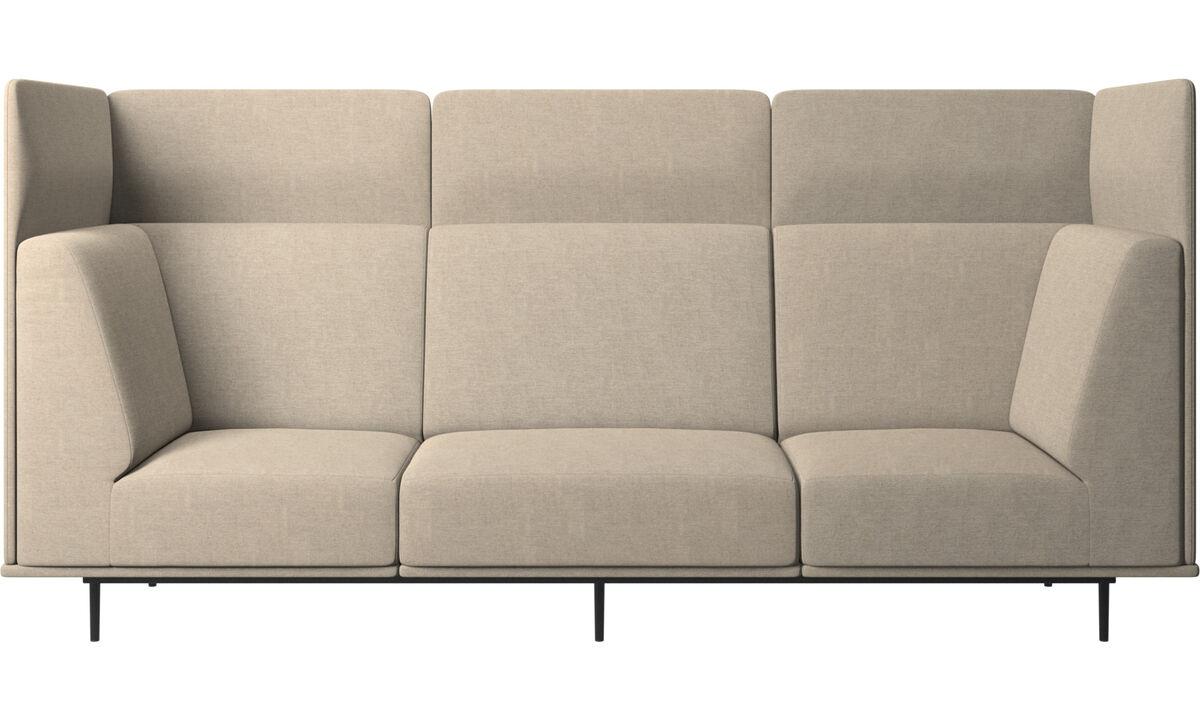 3 θέσιοι καναπέδες - Καναπές Toulouse - Μπεζ - Ύφασμα