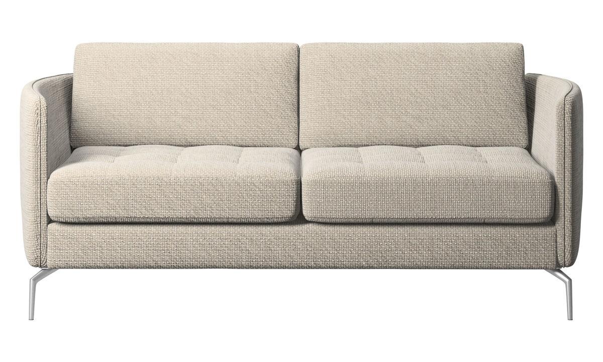 Двухместные диваны - Диван Osaka - Бежевого цвета - Tкань