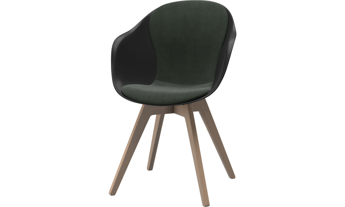 Dining chairs - Adelaide chair - Green - Fabric