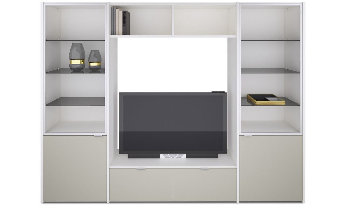 New designs - Copenhagen wall system - White - Lacquered
