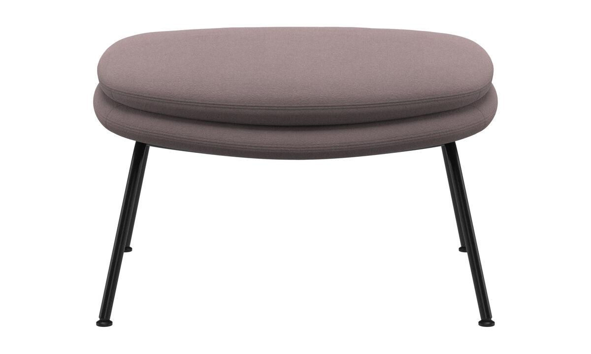 Footstools - Dublin footstool - Purple - Fabric