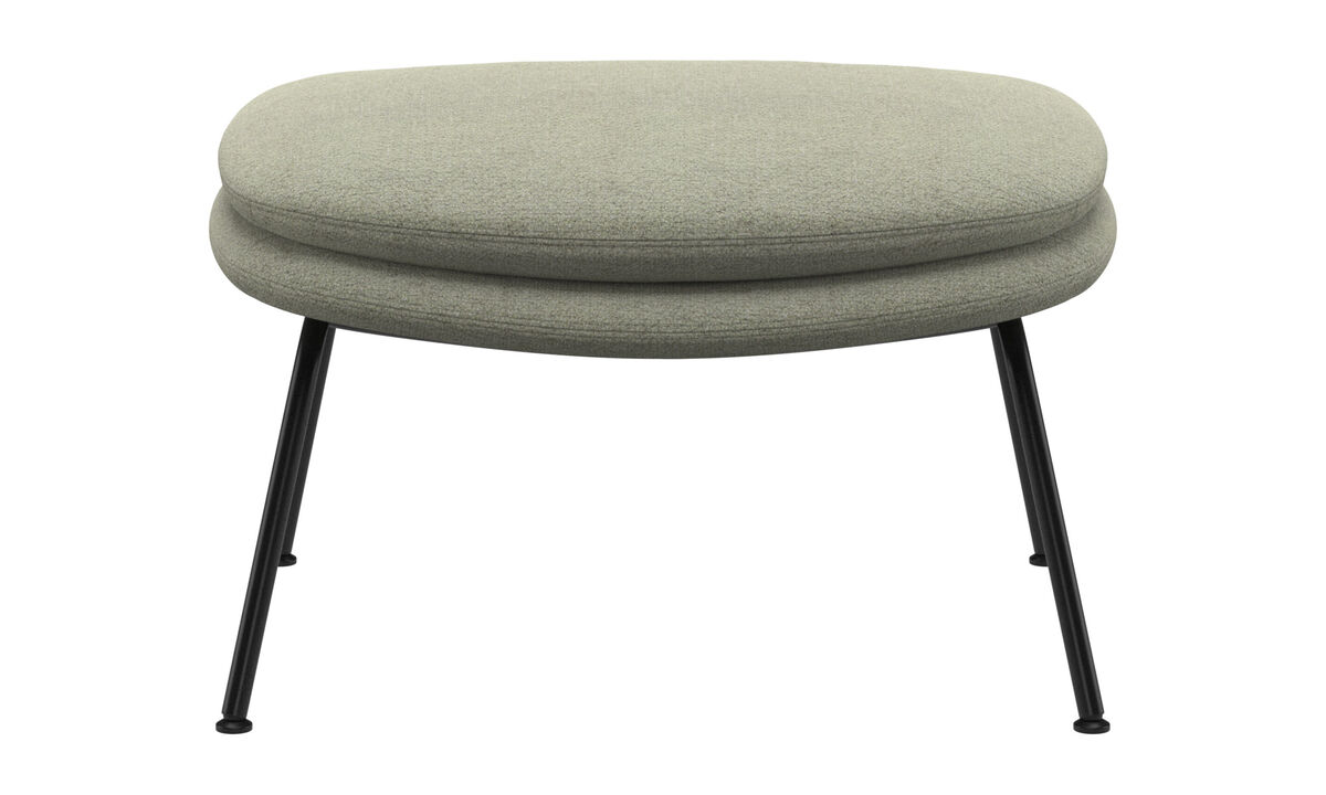 Footstools - Dublin footstool - Green - Fabric