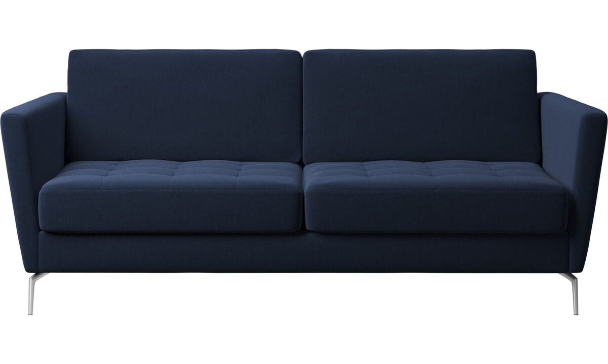 Sofa beds - Osaka divano letto, seduta trapuntata - Blu - Tessuto