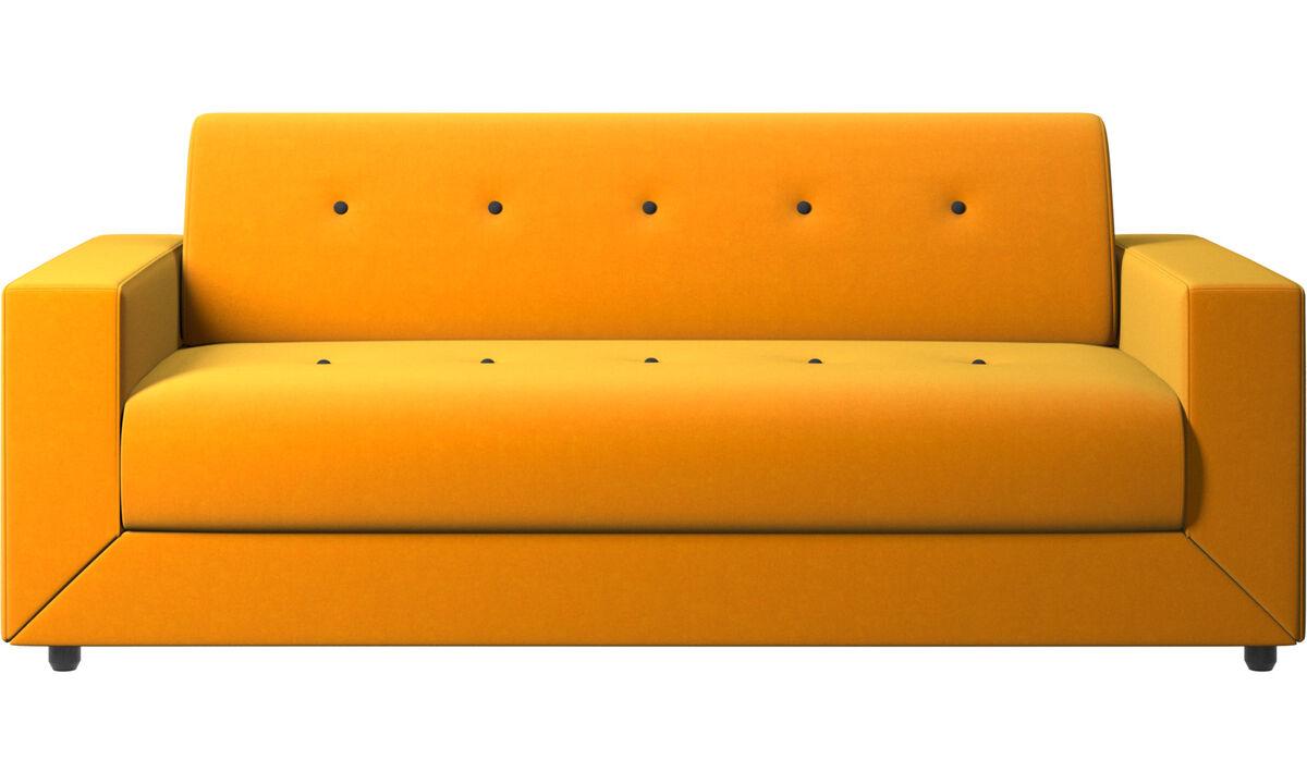 Sofás cama - sofá-cama Stockholm - Laranja - Tecido