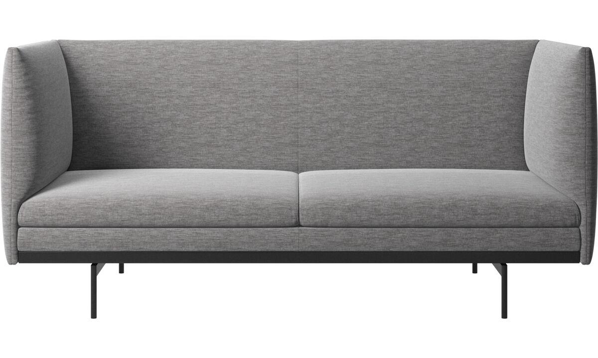 2 seater sofas - Divano Nantes - Grigio - Tessuto