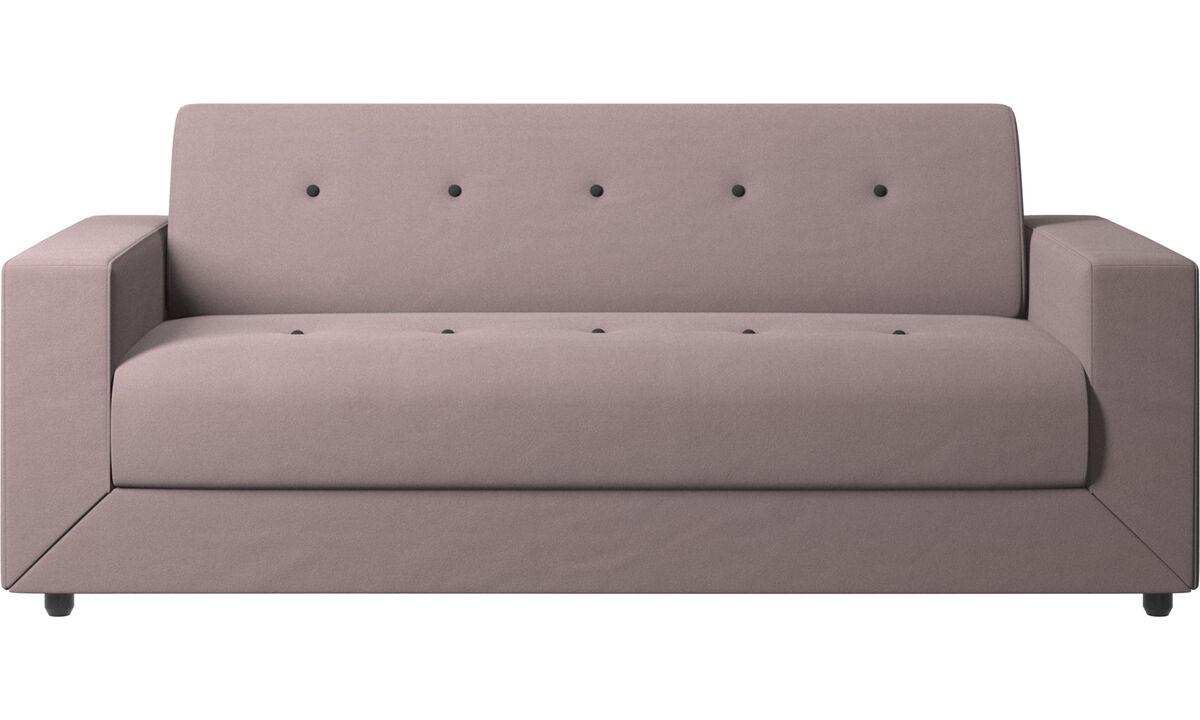 Sofás cama - Sofá-cama Stockholm - Roxo - Tecido
